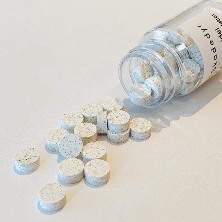 Skjeggkre tabletter